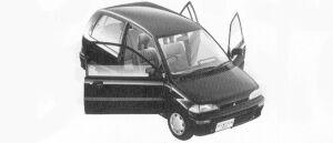 Mitsubishi Minica 1:2DOOR 1992 г.