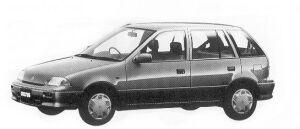 Suzuki Cultus 5DOOR 1000 1992 г.