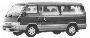 Nissan Caravan COACH 2WD ROYAL GASOLINE 3000 1992 г.