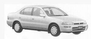 Toyota Sprinter SEDAN 1500SE-LIMITED 1992 г.