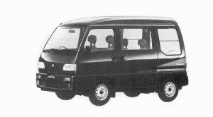 Subaru Sambar 4WD DIAS II SUPER CHARGER ECVT 1992 г.