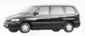 Mazda Efini MPV FABRIE SHEET TYPE A 1992 г.