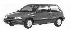 Daihatsu Charade KISSA 1.3I 3DOOR 1992 г.