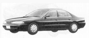 Mitsubishi Eterna V6 1.8 24V VISAGE 1992 г.