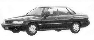 Subaru Legacy TOURING SEDAN 1.8L TI TYPE S 1992 г.