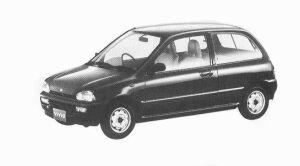 Subaru Vivio 3DOOR EF 5MT 1992 г.