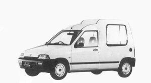 Suzuki Alto HASTLE HU 1992 г.