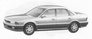 Mitsubishi Sigma 25V-SE 1992 г.