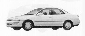 Toyota Carina SEDAN 1800 SE 1992 г.