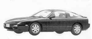 Nissan 180SX TYPE II 1992 г.