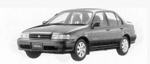 Toyota Tercel 4DOOR VX 1500EFI 1992 г.
