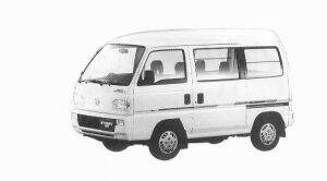 Honda Street G 4WD 1992 г.