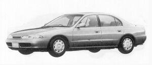 Mitsubishi Eterna V6 2.0 24V LX 1992 г.