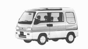 Subaru Sambar 4WD DIAS II SUN SUN ROOF ECVT 1992 г.