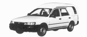 Toyota Sprinter HIGH ROOF VAN 1992 г.
