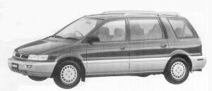 Mitsubishi Chariot MX 1992 г.