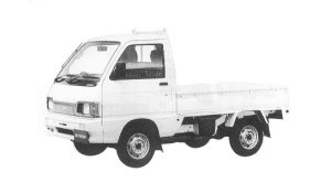 Daihatsu Hijet HI CUSTOM 4WD 1992 г.