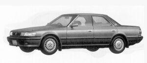Toyota Chaser 2.5 AVANTE 1992 г.