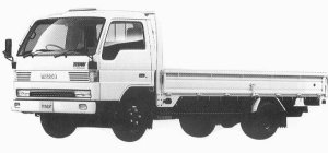 Mazda Titan 3T WIDE CABIN LONG BODY 4.6L 1992 г.