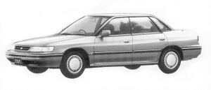 Subaru Legacy TOURING SEDAN 1.8L TI 1992 г.