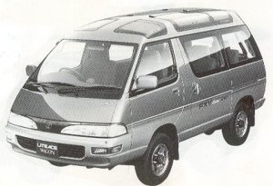 Toyota Liteace WAGON 4WD FX LIMITED 2.0D SKY LIGHT ROOF 1992 г.