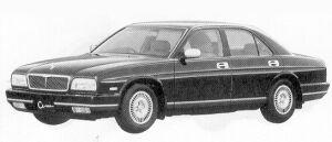 Nissan Cima TYPE III L AV 1992 г.