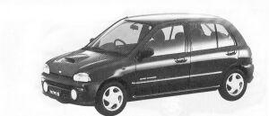 Subaru Vivio 5DOOR SEDAN GX ECVT 1992 г.