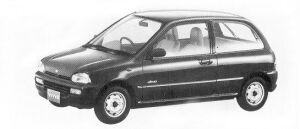 Subaru Vivio 4WD 3DOOR SEDAN EF 5MT 1992 г.