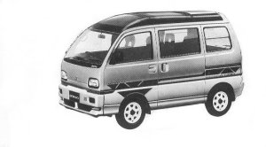 Mitsubishi Bravo 4WD MZ-G SUPER AERO ROOF 1992 г.