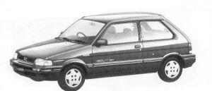 Subaru Justy 3DOOR MYME M ECVT 1992 г.