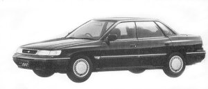 Subaru Legacy SEDAN 2.0L BRIGHTON 1992 г.