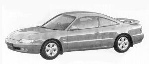 Mazda MX-6 2500 V6 1992 г.