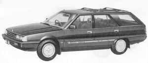 Mitsubishi Magna STATION WAGON 2600 1992 г.