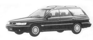 Subaru Legacy 4WD TOURING WAGON 2.0L VZ 1992 г.