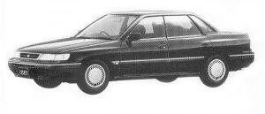 Subaru Legacy 4WD TOURING SEDAN 2.0L BRIGHTON 1992 г.