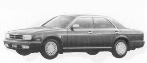 Nissan Gloria V30 TWIN CAM 1992 г.