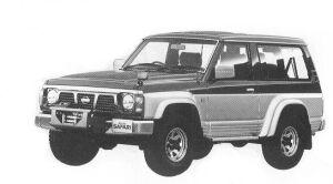 Nissan Safari VAN HARD TOP GRAN ROAD 4200 DIESEL 1992 г.
