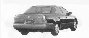 Toyota Crown Majesta C I-FOUR ACTIVE 4WD 1992 г.