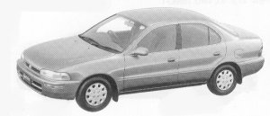 Toyota Sprinter SEDAN 1500XE 1992 г.