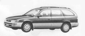 Toyota Corolla Wagon 1500G TOURING 1992 г.