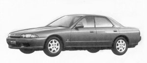 Nissan Skyline 4DOOR SPORT SEDAN GTS25 TYPE-X-G 1992 г.