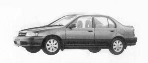 Toyota Corsa 4DOOR VIT-X 1992 г.