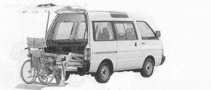 Nissan Vanette CHAIR CAB VX 1990 г.