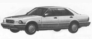 Nissan Cedric 4DOOR V30E 30-SV 1990 г.