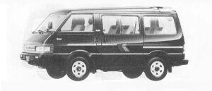 Mazda Bongo WAGON 4WD 2000 GASOLINE RVS 1990 г.