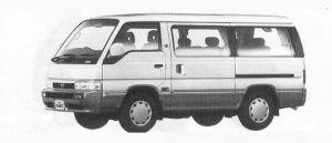 Nissan Homy COACH 4WD GT CRUISE DIESEL TURBO 2700 1990 г.