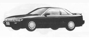 Nissan Silvia K'S SELECTION 1990 г.