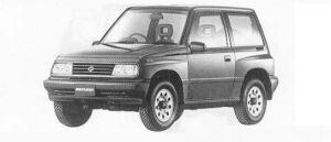 Suzuki Escudo HARD TOP 1990 г.