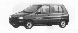 Subaru REX 4WD 5DOOR SEDAN C-i ECVT 1990 г.