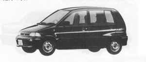 Mitsubishi Minica 1:2DOOR RETASE 1990 г.